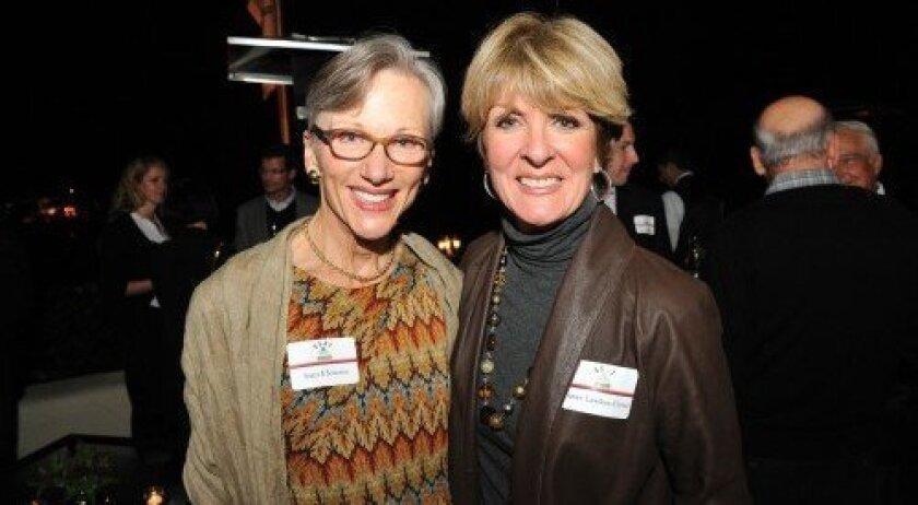 Joan Flowers, Janet Christ (Photo/Jon Clark)