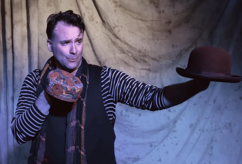 "Sean Yael-Cox stars in Intrepid Theatre's ""The Thousandth Night."""