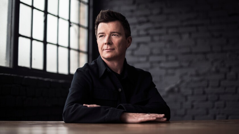 Rick Astley will perform Thursday night at the Theatre at Ace Hotel.