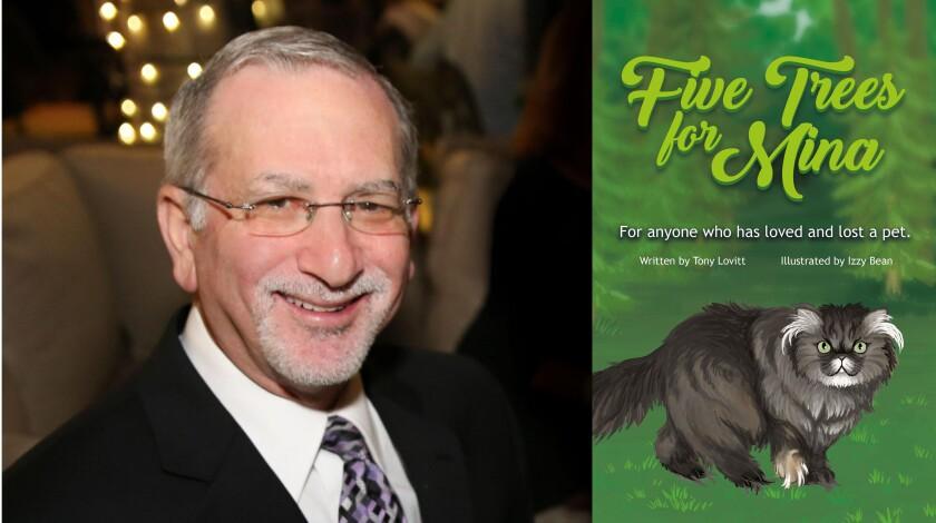 """Tony Lovitt, author of """"Five Trees for Mina."""""""