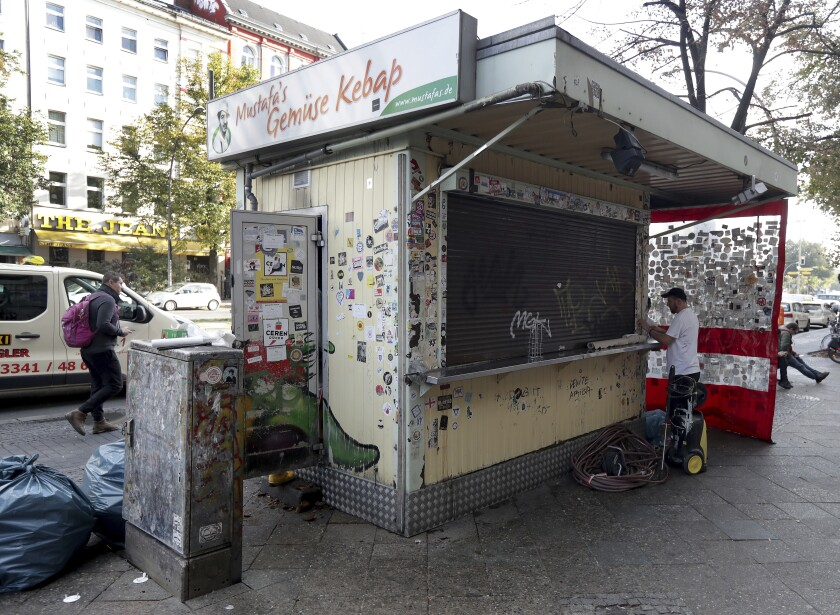 Germany Kebab Stand Fire