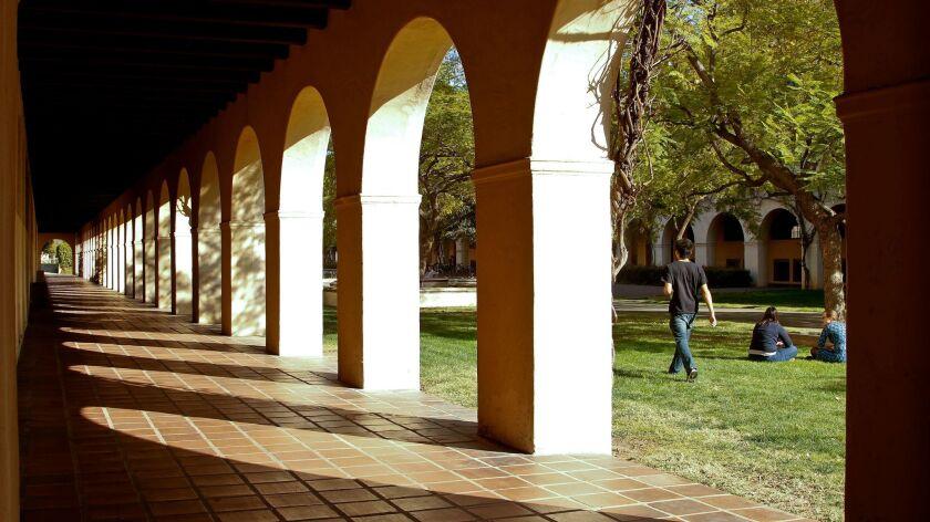 PASADENA, CA - FEBRUARY 28, 2013 - Campus scene at California Institute of Technology, Caltech, in