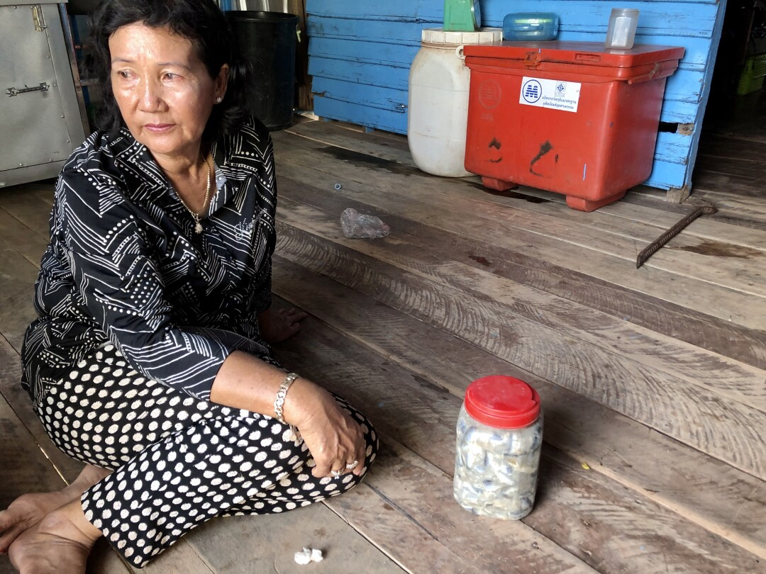 Activist in Chhnok Tru Cambodia