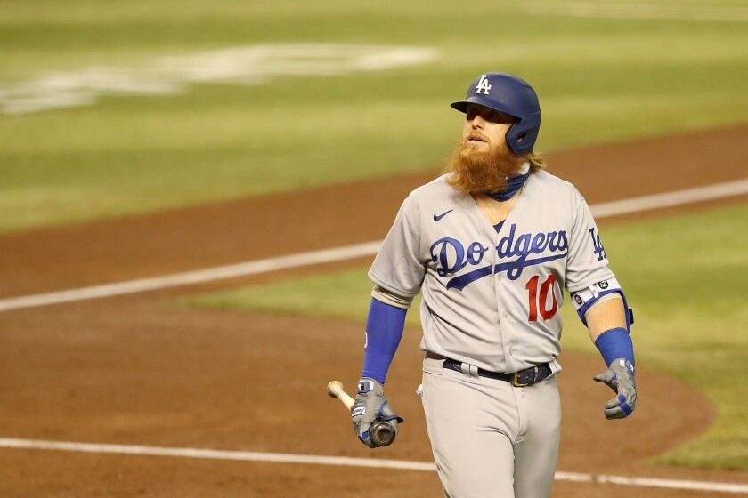 The Dodgers' Justin Turner is pictured July 31.