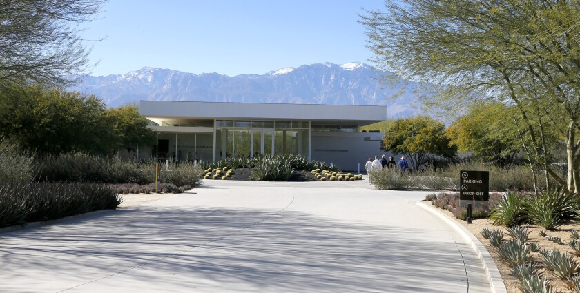 Sunnylands Center in Rancho Mirage, where next week President Obama will meet heads of state from the 10 Assn. of Southeast Asian Nations.