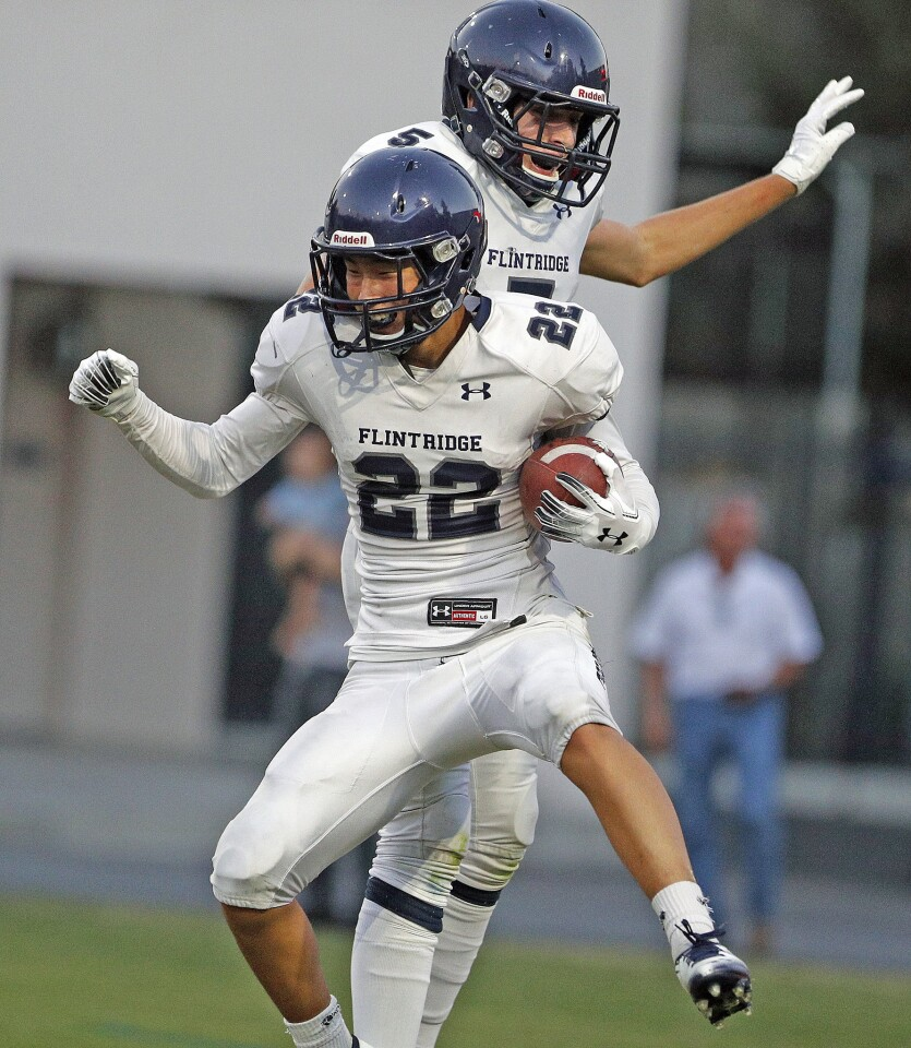 Photo Gallery: Flintridge Prep vs. Sun Valley in non-league 8-man football game