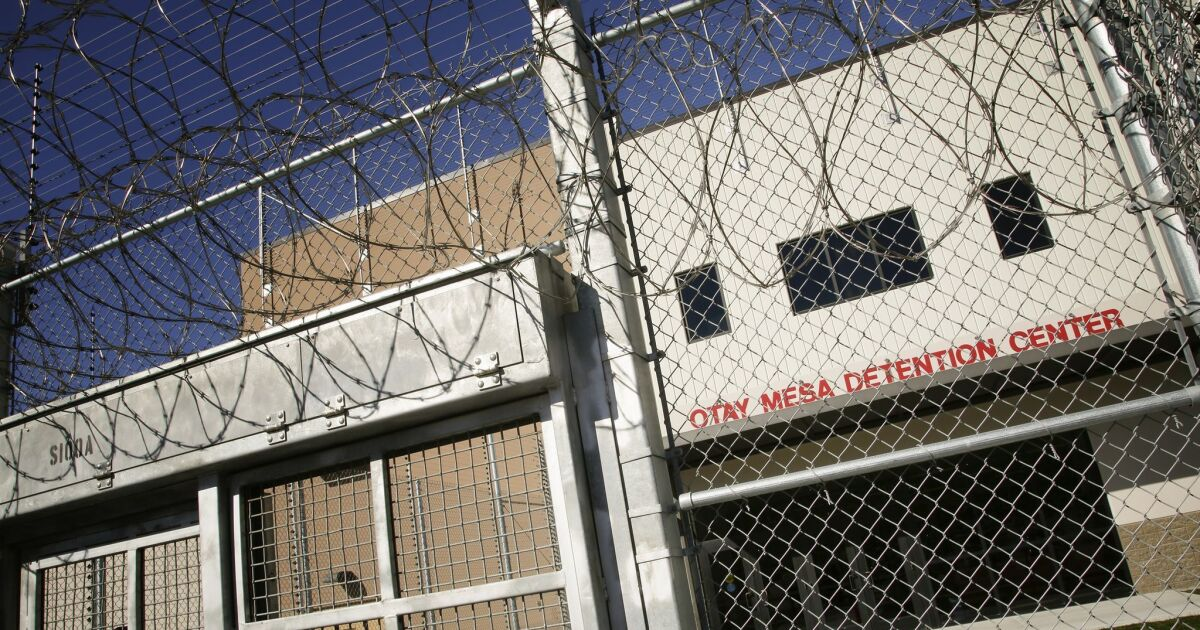 11 migrants at San Diego immigration detention center tested positive for mumps