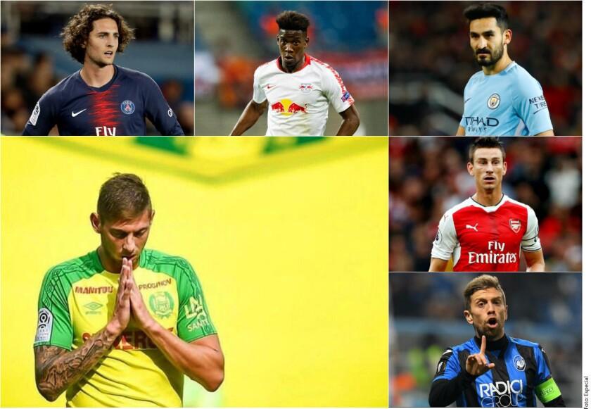 Varios jugadores se han hecho presentes con sus aportaciones para continuar con la búsqueda del argentino Emiliano Sala.