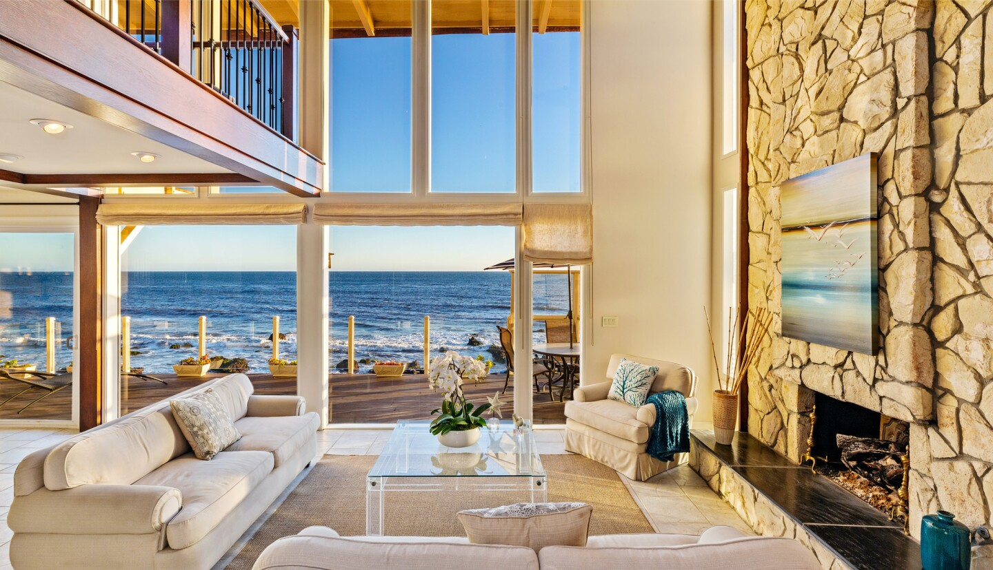 Barry Williams' Malibu home