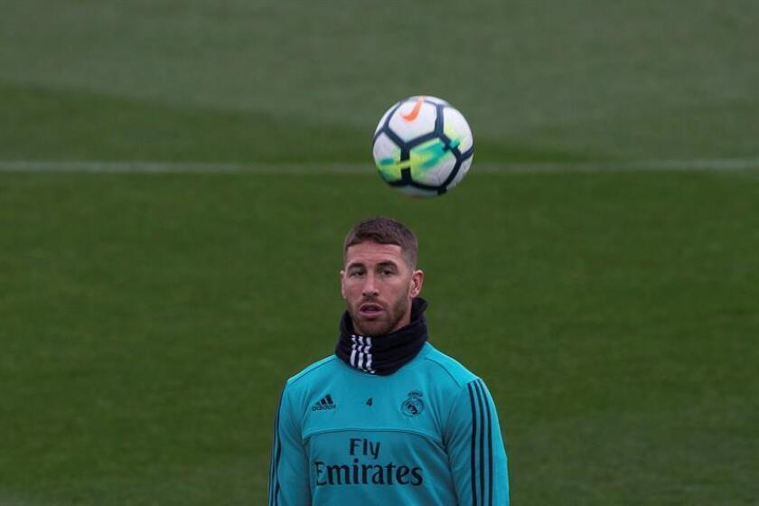 En la imagen, el defensa del Real Madrid, Sergio Ramos. EFE/Archivo