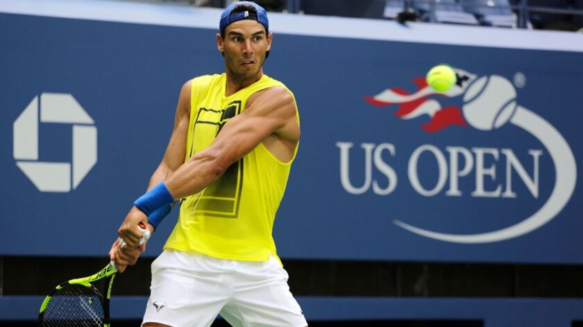 Old Rivals Roger Federer Rafael Nadal Top A U S Open Men S Field Decimated By Injuries Los Angeles Times