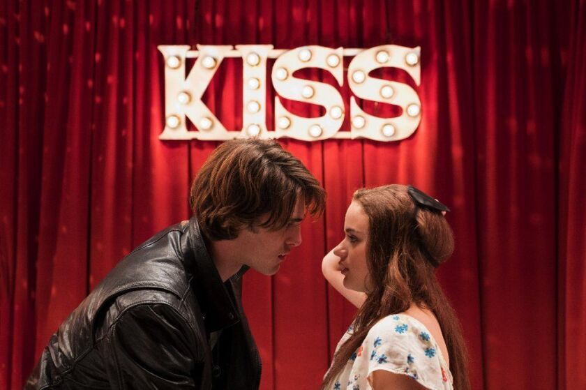 """Jacob Elordi and Joey King in """"The Kissing Booth"""""""