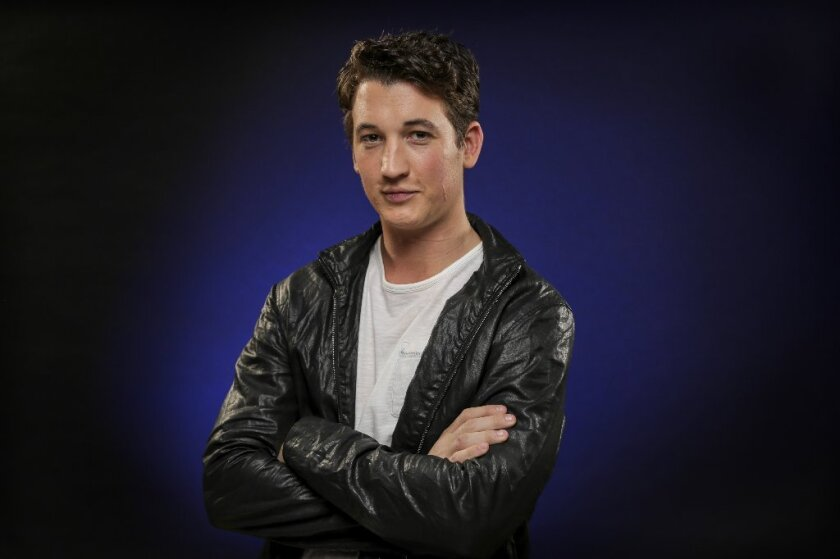 "Miles Teller, seen here at the Los Angeles Times' Young Hollywood roundtable in 2013, says in a recent interview that he did ""Divergent"" for ""business reasons."""