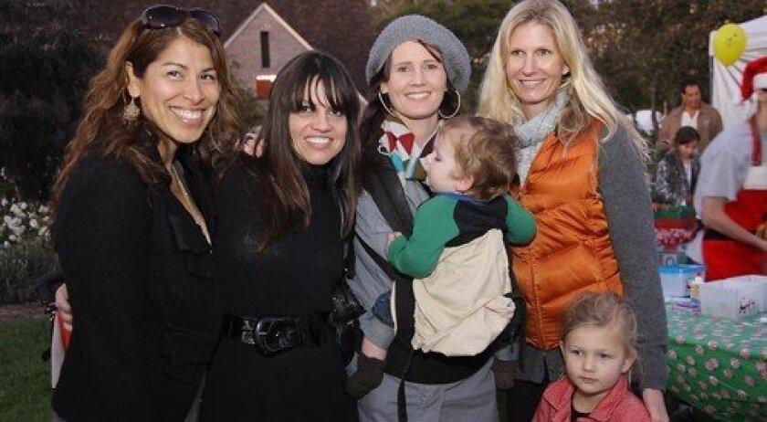 Yolanda Cooper, Pilar Macchione, Melissa and Koa Nelson, Meara Demko, Raina Nelson (Photo: Jon Clark)