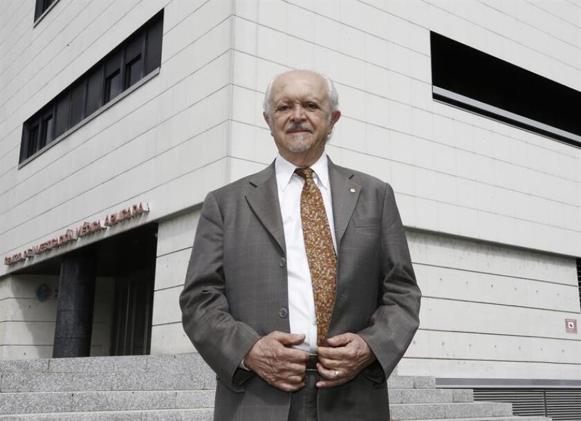 El premio Nobel de Química 1995, el mexicano Mario Molina. EFE/Archivo