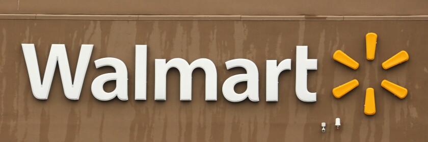 A Walmart logo
