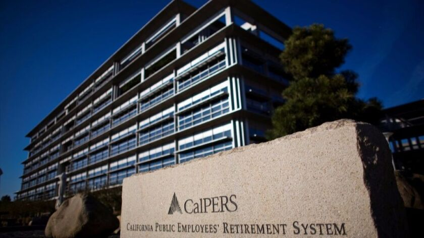 CalPERS headquarters is seen in Sacramento in 2009.