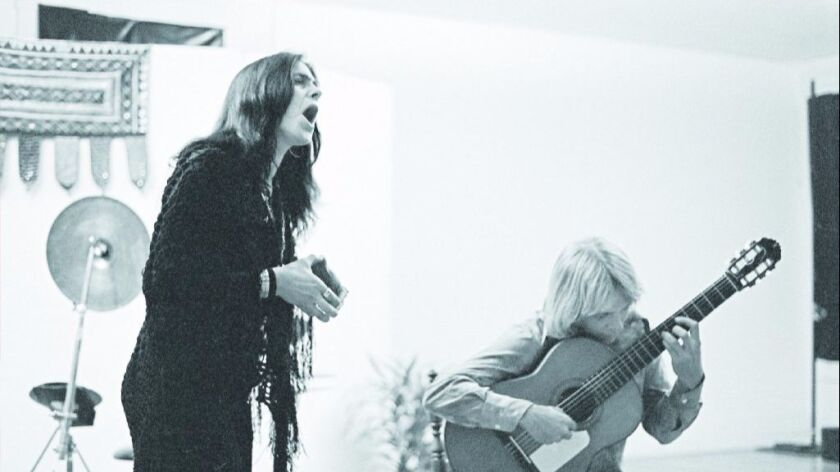 Diamanda Galás is shown singing in the late 1970s with Dave Millard in San Diego.