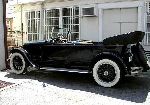 1922 Lincoln Deluxe Phaeton
