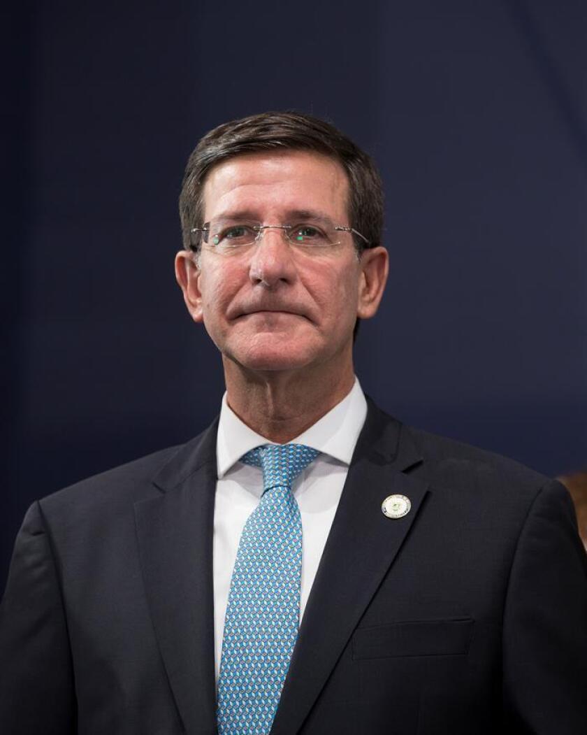 El gobernador interino de Puerto Rico, Luis G. Rivera. EFE/Archivo