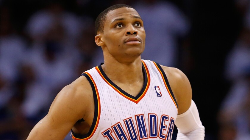 Oklahoma City Thunder point guard Russell Westbrook will not play for the U.S. in this summer's World Cup of Basketball.