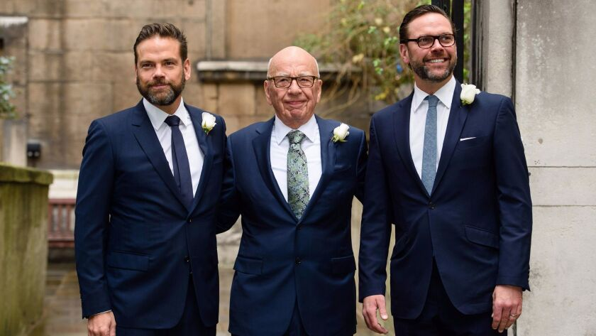 FILES-BRITAIN-AUSTRALIA-US-MEDIA-MARRIAGE-MURDOCH-HALL