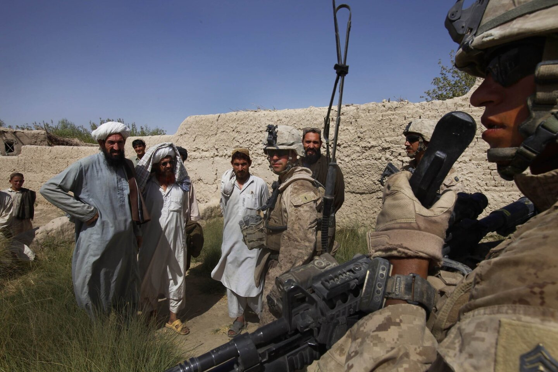 Mission Afghanistan: Life on a patrol base