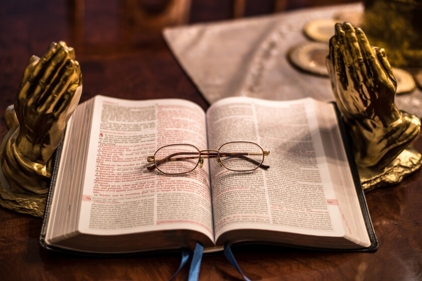 When we read Scripture, we should ask the Spirit of God to clarify what we are reading.