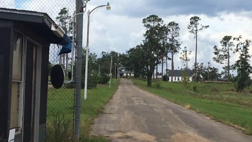 The shuttered Dozier School for Boys in Marianna, Florida. The institution and its dark past were th