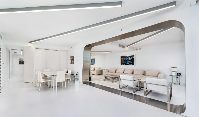 Zaha Hadid's former Miami condo