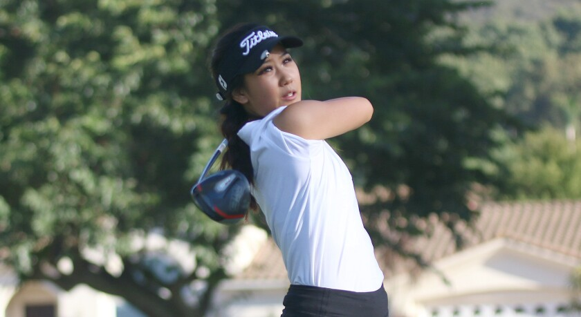 Senior Olivia Yun turned in 36 holes of even par golf at the NCC Tournament.