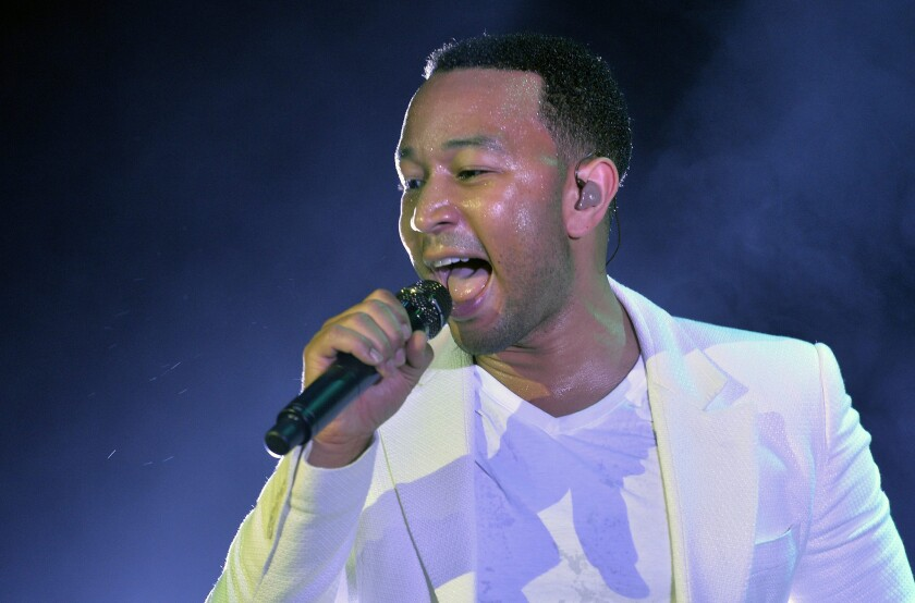 """Musician John Legend will serve as an executive producer of WGN America's new series """"Underground."""""""