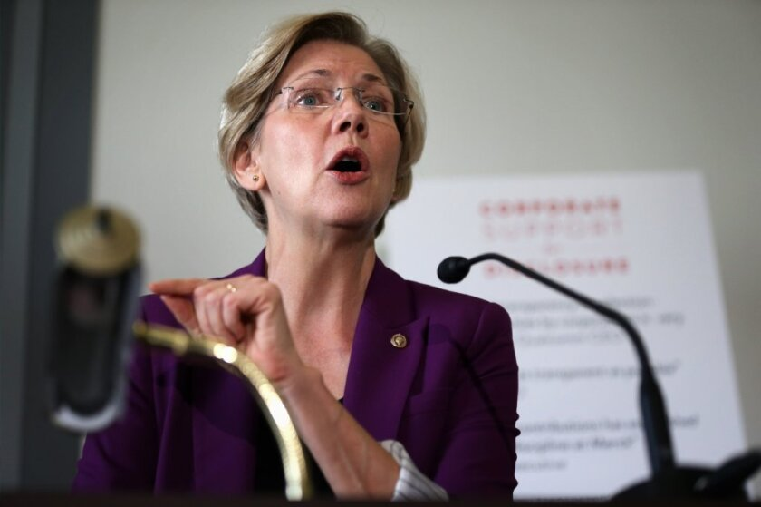 """Elizabeth Warren, not afraid to debate the """"undebatable"""" when facts are on her side."""