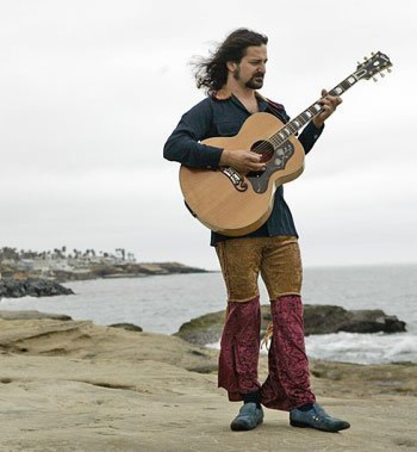 """""""It's up to us to create the world we want to live in. Music is one of the tools we have to do this."""" (Earnie Grafton / San Diego Union-Tribune)"""