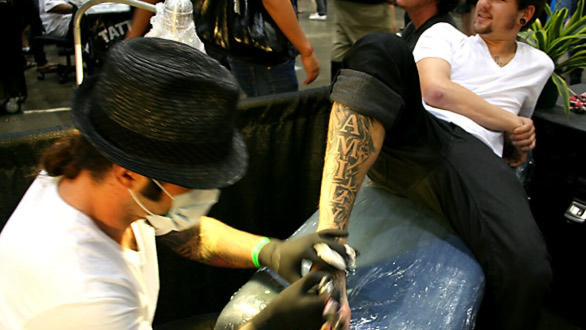Street Culture Body Art Expo Downtown L A Los Angeles Times
