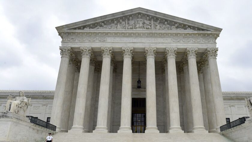 The Supreme Court narrowly voted to strike down mandatory deportations for immigrants convicted of a home burglary.