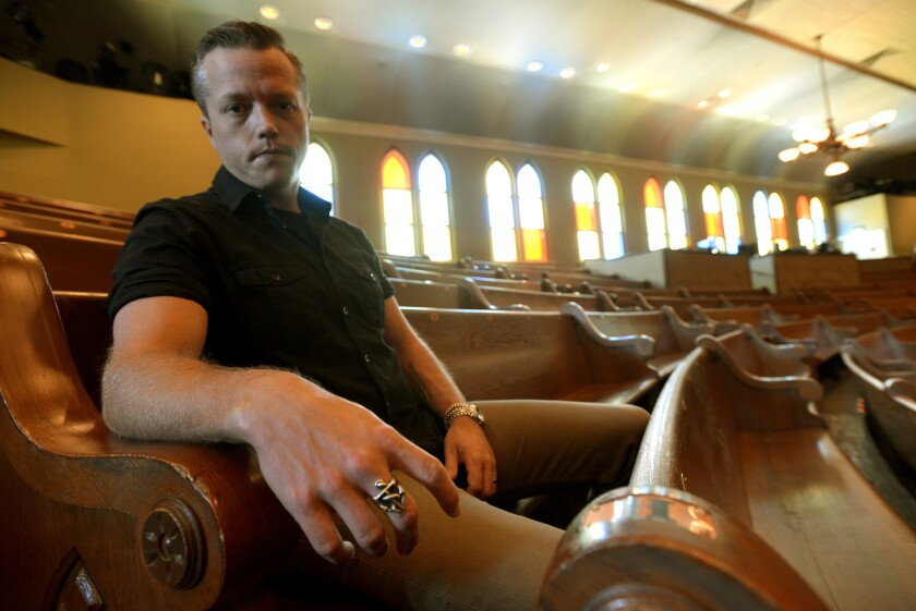 Jason Isbell at the Ryman Auditorium in Nashville