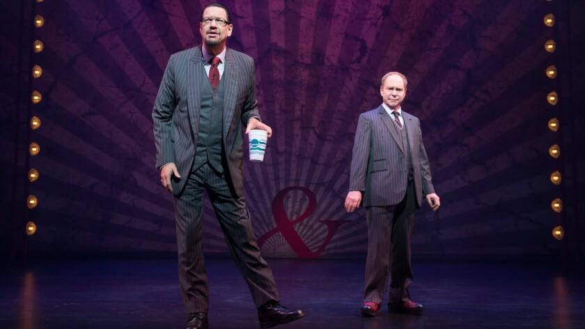 Penn & Teller On Broadway Marquis Theatre