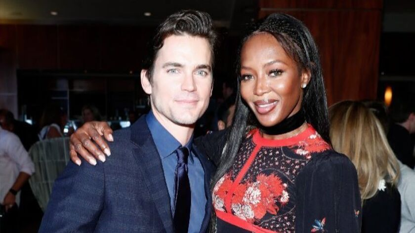 Actor Matt Bomer and model Naomi Campbell are among the guests to attend the Gold Meets Golden event.