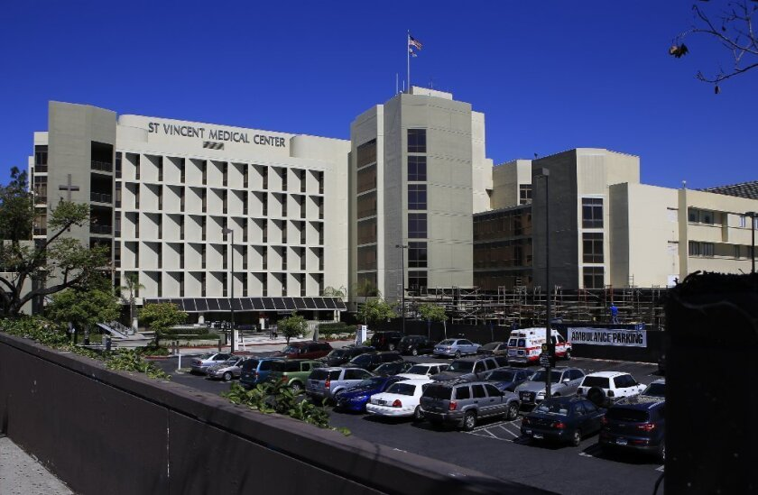St. Vincent Medical Center in Los Angeles is one of six hospitals operated by Daughters of Charity.