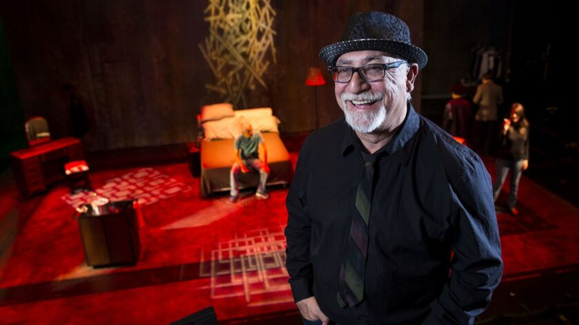 LOS ANGELES, CA.-- OCTOBER 3, 2014--Jose Luis Valenzuela, founder of the LatinoTheater Company, is p