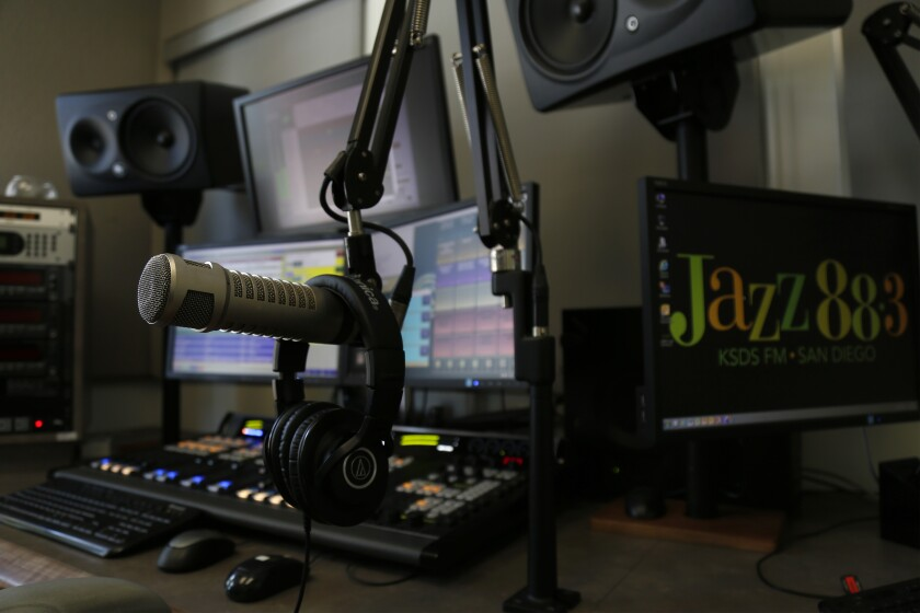 Award-winning San Diego radio station KSDS Jazz 88.3 FM continues to air around the clock, despite its studios being shuttered since March because of the coronavirus.