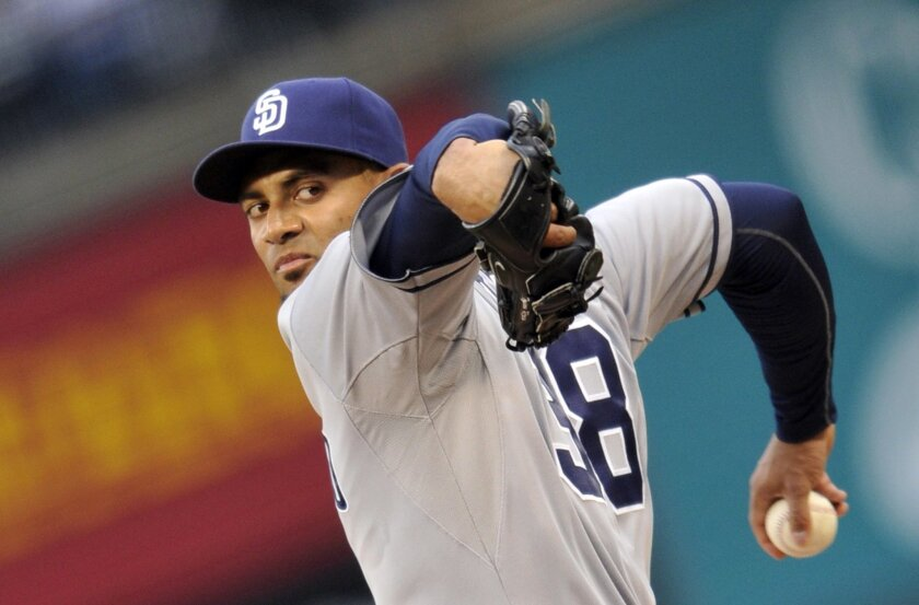 Padres starter Tyson Ross, who had his non-pitching shoulder pop out and back into the socket while hitting in L.A., may miss his next start.
