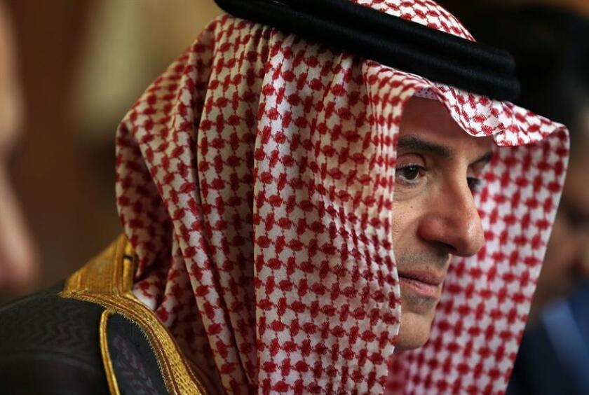 El ministro de Relaciones Exteriores de Arabia Saudí, Adel al Yubeir. EFE/Archivo