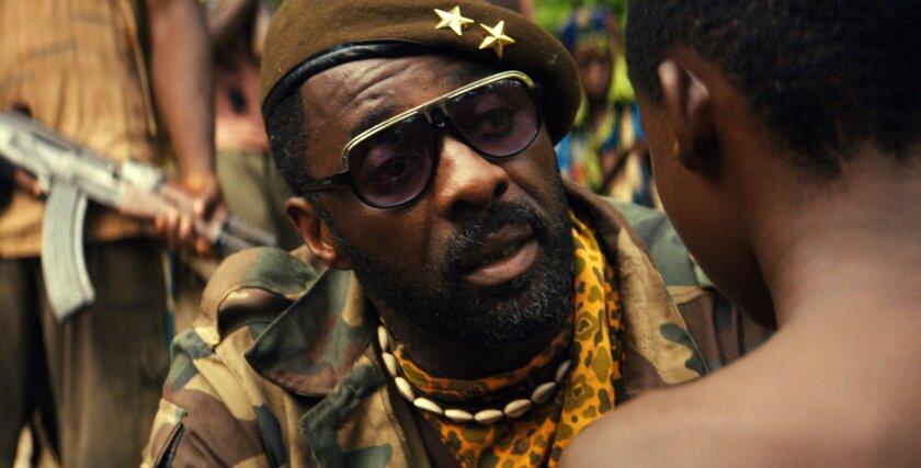 "Idris Elba in a scene from Netflix's 2015 drama ""Beasts of No Nation,"" directed by Cary Joji Fukunaga."