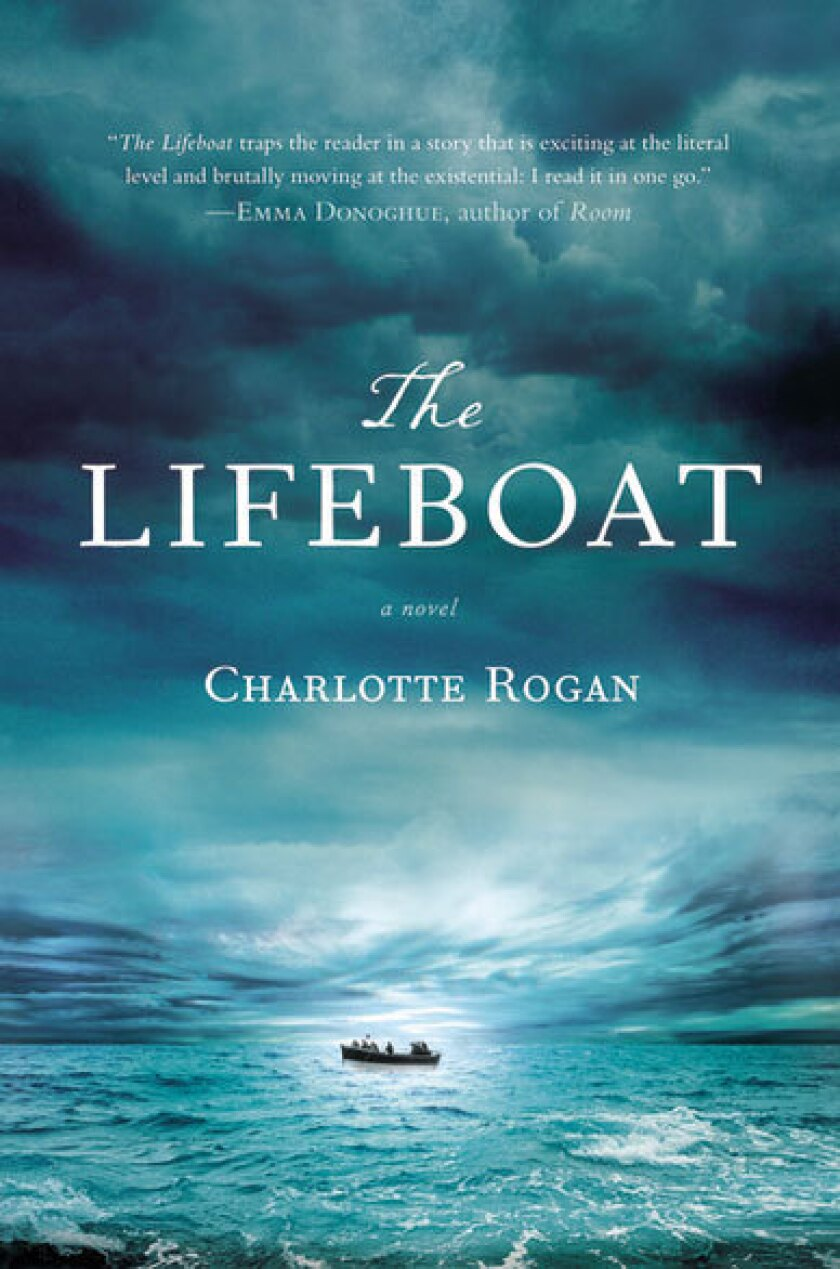 """""""The Lifeboat"""" by Charlotte Rogan."""