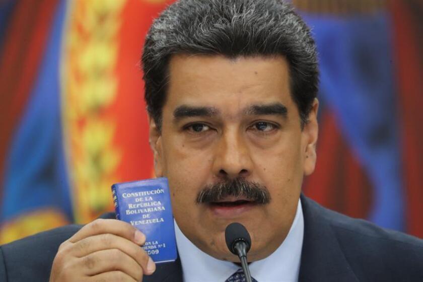 El presidente de Venezuela, Nicolás Maduro. EFE//Archivo