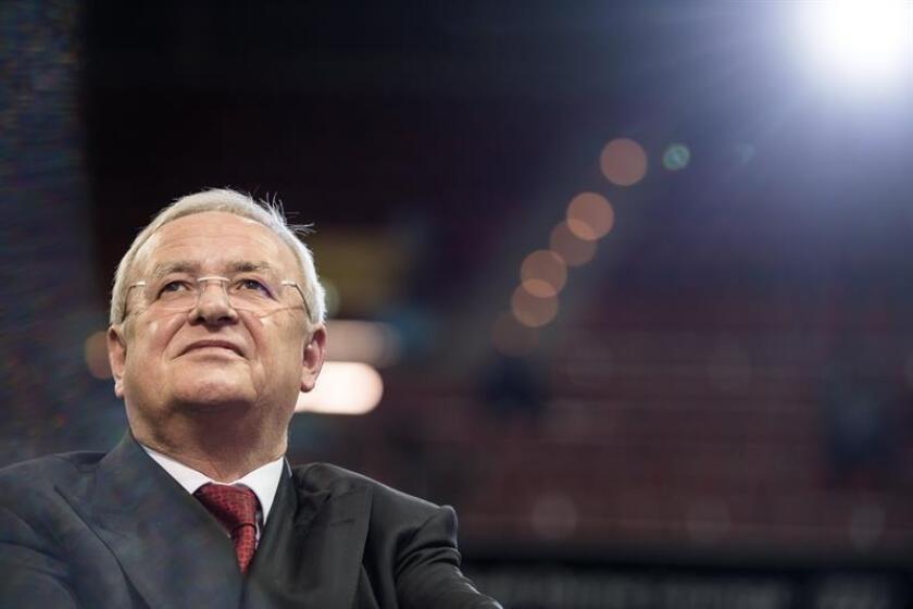 Fotografía de el expresidente del Consejo de Dirección de Volkswagen Martin Winterkorn. EFE/Archivo