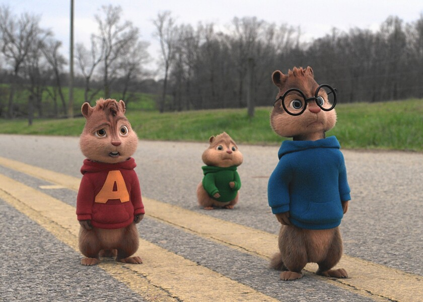 """A scene from """"Alvin and the Chipmunks: The Road Chip."""""""