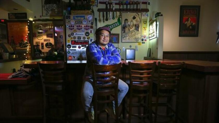 Edwin Real founded the Facebook group Eating and Drinking in San Diego a year ago. (Nelvin C. Cepeda)